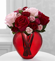 HRB 	The FTD® My Heart to Yours™ Rose Bouquet