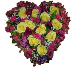 Heart Shaped Arrangement
