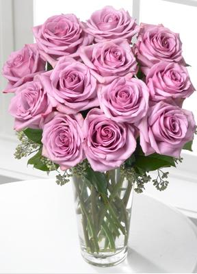 Order & send lavender purple roses for Valentine\'s Day delivery in Grand Rapids, Jenison, Holland, Ada, Walker and Byron Center with Sunnyslope Floral