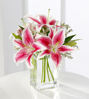 Send Stargazer lilies and other fresh flowers for same day delivery in Grand Rapids, Byron Center, Holland, Zeeland and Rockford by Sunnyslope Floral