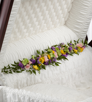 The FTD® Trail of Flowers™ Casket Adornment - Cleveland Ohio