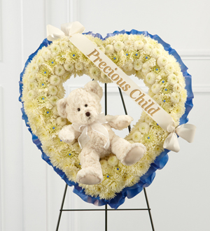 The FTD® Precious Child™ Standing Heart - Cleveland Ohio