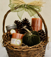 Fall Scents Gift Basket