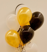 Dozen Latex Balloons Classy Collection