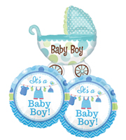 It's a Boy Balloon Bundle