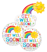 Get Well Soon Balloon Bundle