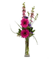 Send Simple BUD vase with Gerbera Daisies and more TODAY with SAME DAY Delivery by Sunnyslope Floral Grand Rapids
