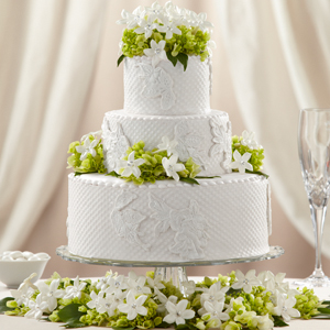 The FTD® Bloom & Blossom™ Cake Décor