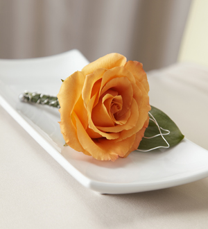The FTD® New Sunrise™ Boutonniere