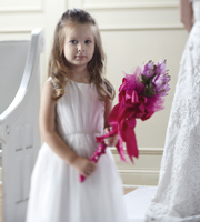 The FTD® Sparkle Pink™ Flower Girl Bouquet