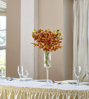 The FTD® Orange Mokara Bouquet