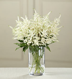 The FTD® White Astilbe Bouquet