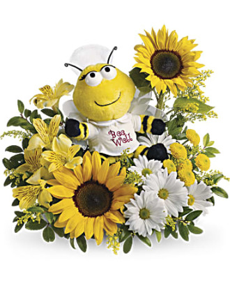 Teleflora\'s Bee Well Bouquet