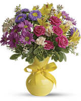 Teleflora's Color It Happy