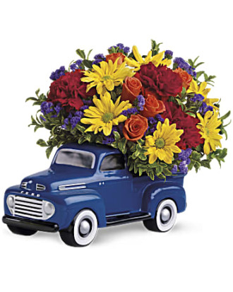 Teleflora\'s \'48 Ford Pickup Bouquet