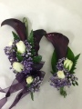Calla Lily Corsage and Boutonniere