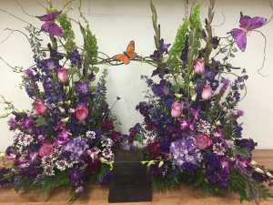 Lavender Butterfly Tribute