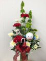 Happy Holiday Snowman Bouquet