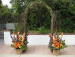 Fall Arch with side arrangements
