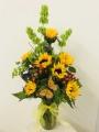 The Delightful Sunflower Bouquet