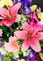 Pastel Wrap Bouquet