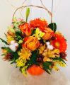 Fall Pumpkin Garden Bouquet