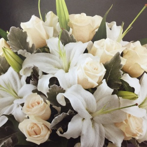 Perfect in White Bouquet