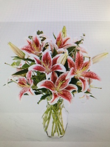 Among the Stars Lily Bouquet