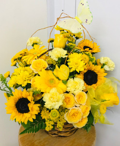 Sunny Basket Full Of Wishes