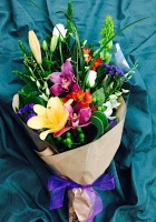 Tropical Presentation Bouquet