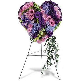 Graceful Tribute Heart