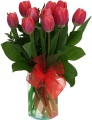 The Tulip Bouquet - Red