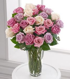 The Pastel Perfection Rose Bouquet