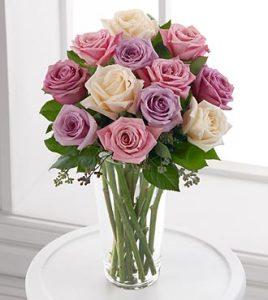 The Pastel Rose Bouquet