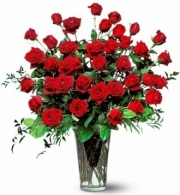 The 3 Dozen Long Stem Red Rose Bouquet