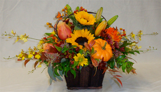 Autumn Bounty Basket