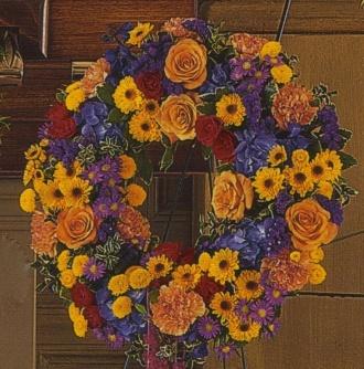 Open Mixed Wreath 15BWR