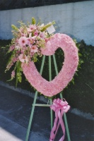 Pink Open Heart 7BOH