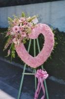 Pink Open Heart 7BOH