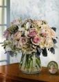 White & Pink Vase Arrangement 11BVA