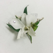 White Diamond Boutonniere