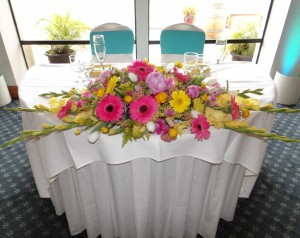 Lollipop Head Table