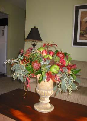 Fall Harvest Arrangement with Apples