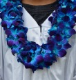 BLUE DOUBLE  ORCHID LEI call for availabilty