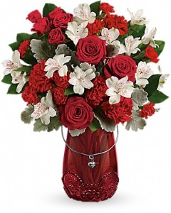 RED HAUTE BOUQUET T18V100