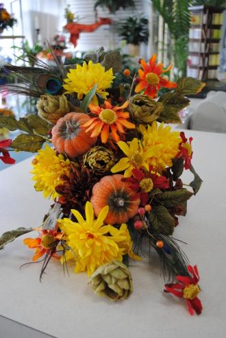 Gladwells Florist Silk Cornpiece Jacksonville Fl 32210 Ftd