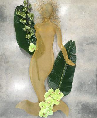 Shadow Art Mermaid