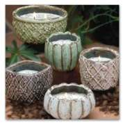 SWAN CREEK VINTAGE POTTERY CANDLES