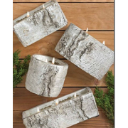 SWAN CREEK WHITE WOODS POTTERY CANDLES