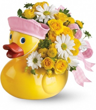 Teleflora\'s Ducky Delight - Girl